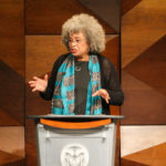 Angela Davis speaking