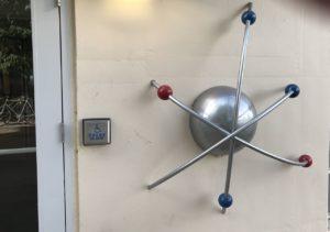 Atomic sculpture