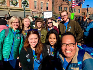CSU Staff at MLK Day March