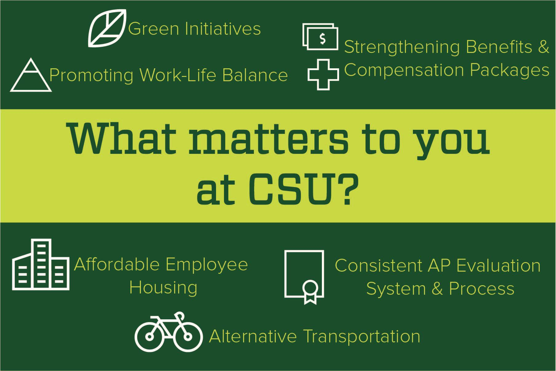 What matters to you at CSU poster