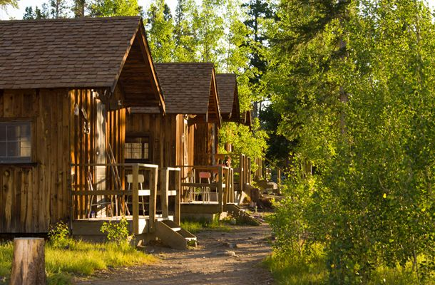 Cabins at CSU Mountain Campus